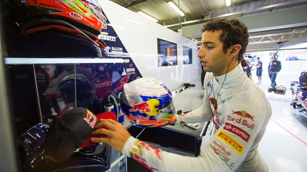 Switching teams: Daniel Ricciardo.