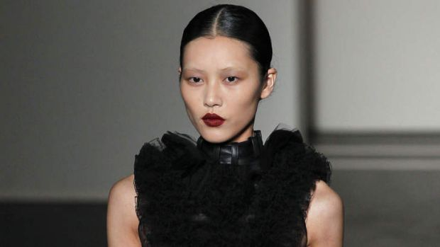 Rapid rise: Liu Wen is the first Asian model to appear in the annual Forbes highest-paid models list.