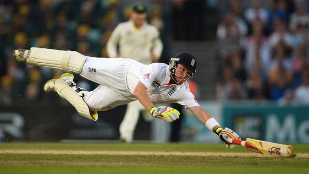 Man of the series: England's Ian Bell.