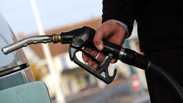 Petrol pressure ... retailers feel Coles and Woolworths have an unfair advantage.