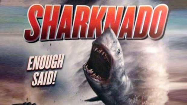 Sharknado: Coming to our screens on Friday the 13th.