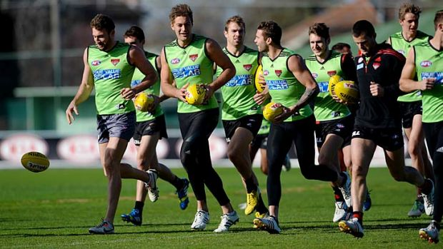 Essendon players are still considering their legal positions.