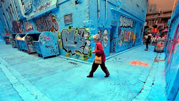Rutledge Lane with a new hue.