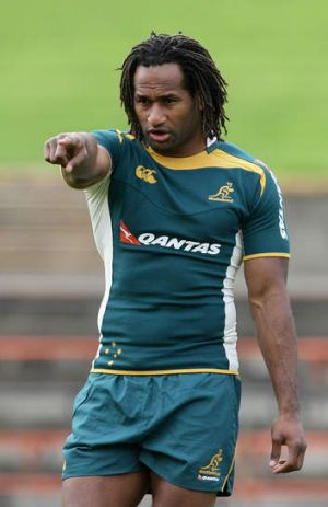 Maybe, baby: Lote Tuqiri is not ruling out a return to union.