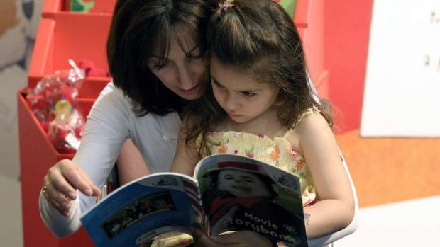 """""""Life-long experience"""": Half the parents surveyed believed reading was the most important skill for a child to learn."""
