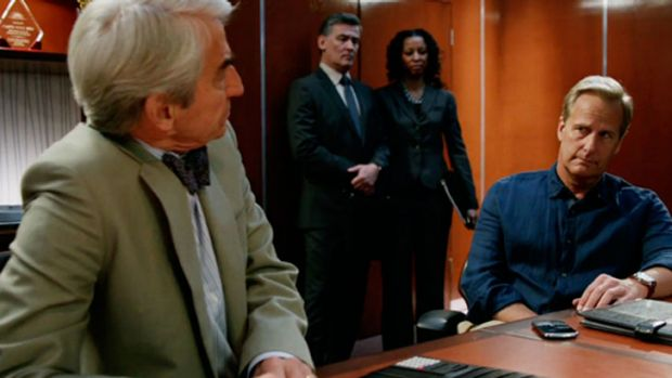 Seriously. Who are the people behind Charlie and Will? <i>The Newsroom</i>