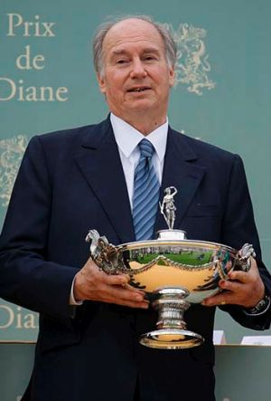 A first: The Aga Khan wants to add the Melbourne Cup to his trophies.