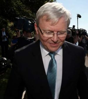 Met with a mixed response: Prime Minister Kevin Rudd's relocation plans for the historic Garden Island naval facilities.