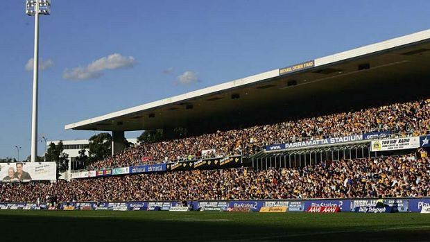 Refurbishment plan: Parramatta Stadium.