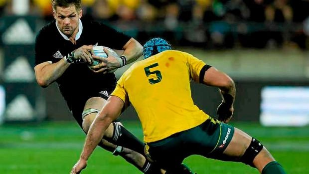 Back in business: Richie McCaw.
