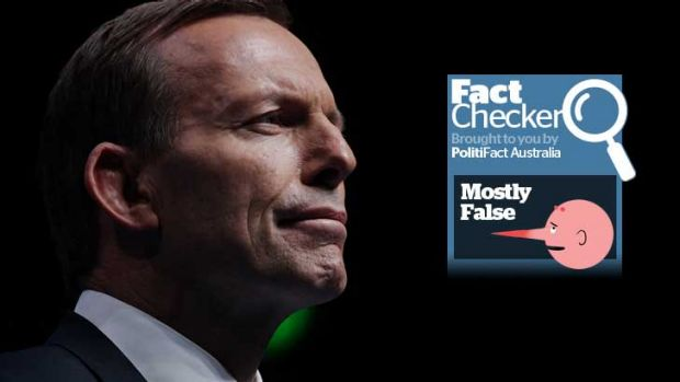 Tony Abbott's claims that the Australian Building and Construction Commission has saved $6 billion were found to be ...