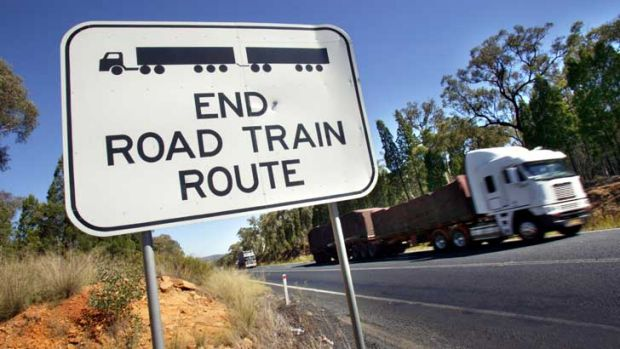 The inland rail link between Melbourne and Brisbane would take thousands of trucks off the Newell Highway.