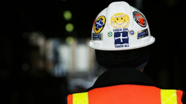 Mr Fisher said when he asked Christopher, who was wearing a high-visibility vest containing a CFMEU logo and the word ...