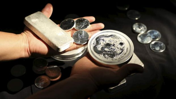Precious metals: Police found a haul of silver worth about $6000.