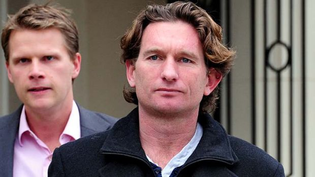 James Hird was at pains to point out that the charges against him were dropped.