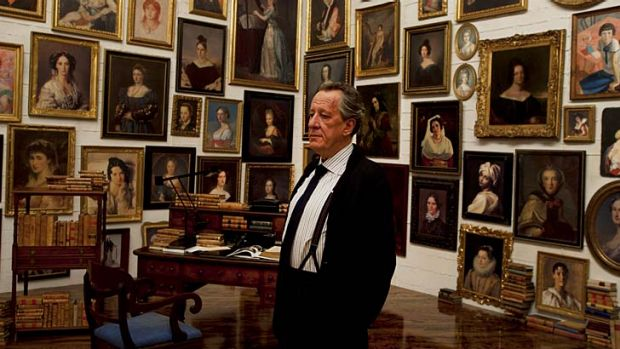 A portrait of the artist: Geoffrey Rush excels as auctioneer Virgil Oldman in Giuseppe Tornatore's latest film.