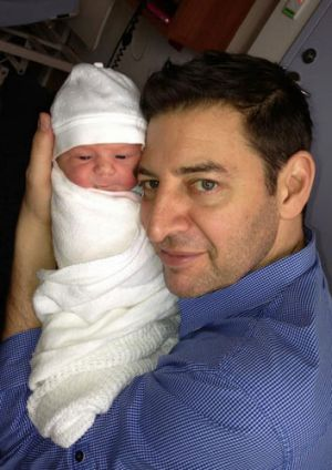 The photo of Mr Zempilas with daughter Chloe attracted almost 4,000 'Likes' in an hour, on 92.9's Facebook page.