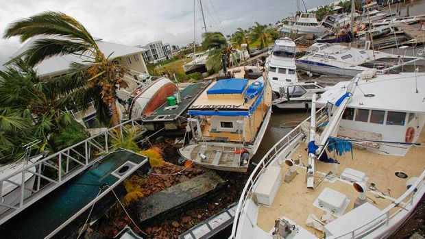 Port Hinchinbrook felt the brunt of cyclone Yasi in 2011.