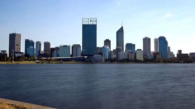Perth's office vacancy rate has climbed to 9 per cent.