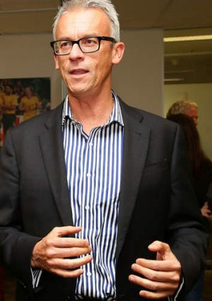 Leading the way: David Gallop.