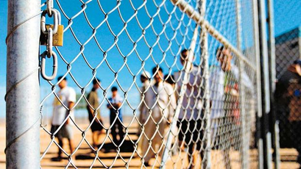 Captivity: About 50 refugees are being held indefinitely.