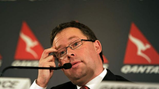 By cutting costs deeply to win support from the government, Qantas chief Alan Joyce could be putting himself on a ...