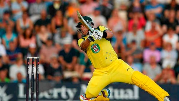 Aaron Finch's innings featured an extraordinary 14 sixes.