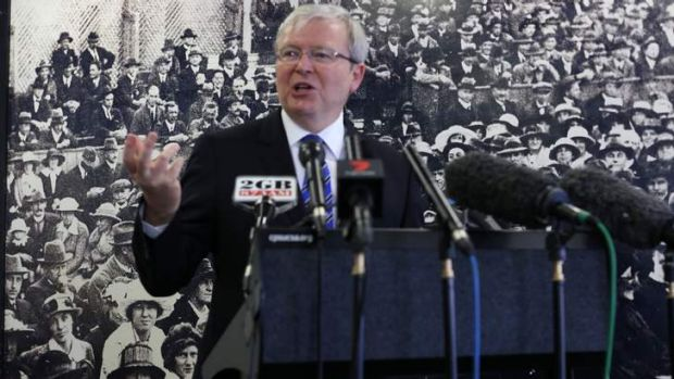 Prime Minister Kevin Rudd will appoint a Minister for Cities should the government prevail on election day.
