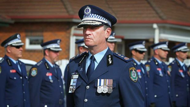 Curtailed: Andrew Scipione, Commissioner.