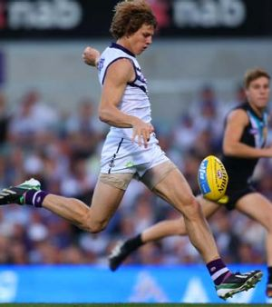 Nathan Fyfe is among the Fremantle players rested for the game against the Saints.