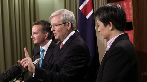 Kevin Rudd's attempt to finger the opposition has backfired.