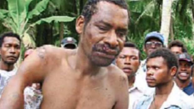 Accused rapist and murderer Stephen Tari, who was killed after escaping from jail.