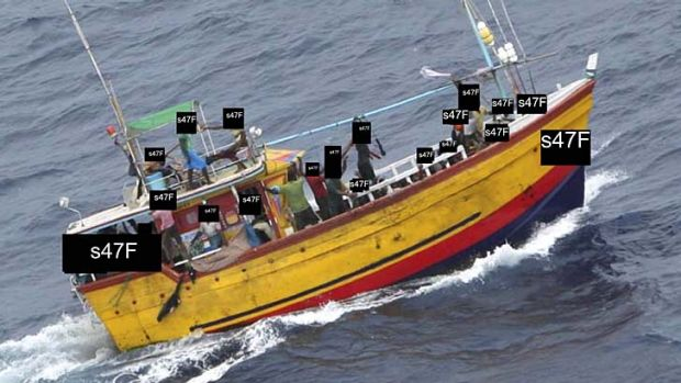 The other asylum seeker boat that capsized killing all on board.