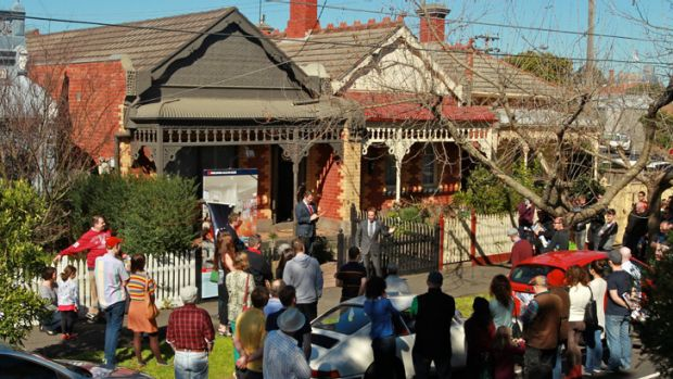 The sun also shone on this Clifton Hill terrace, selling  for $1.15 million, well above its $940,000 reserve.