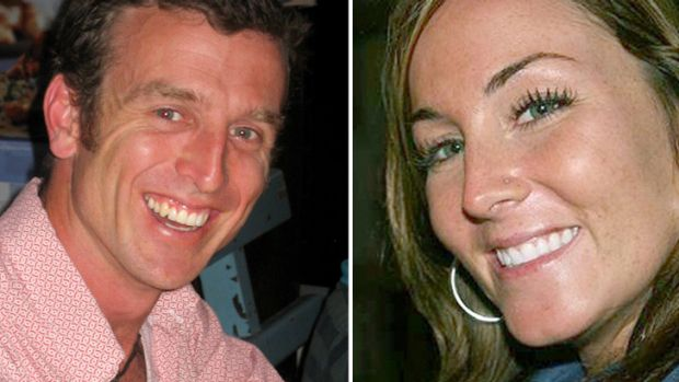 Australian photojournalist Nigel Brennan and Canadian freelance reporter Amanda Lindhout, who has told of her kidnap ...