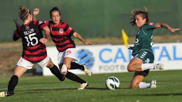 Canberra United's first home game in the new season is against the Wanderers.