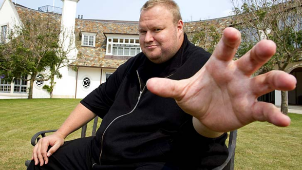 """""""WOW! I'm getting so many encouraging messages about my plans for a new political party"""": Kim Dotcom."""
