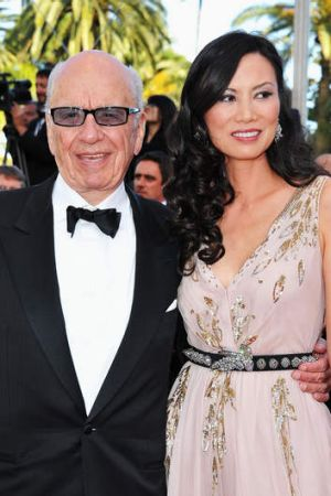 Media magnate Rupert Murdoch with former wife Wendi Deng. Prime ministerial aspirant Clive Palmer is furious about a ...