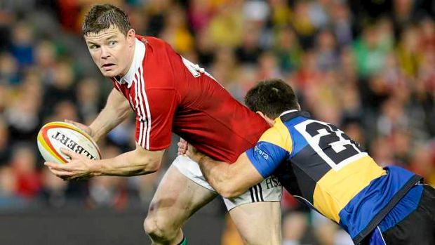 Resentful: Brian O'Driscoll was dumped from the Lions team for the deciding Test against Wallabies.