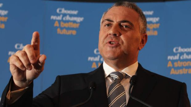 """Salary packaging"": Joe Hockey."