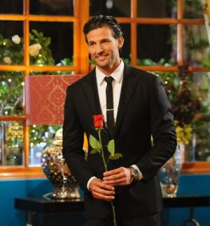 The ladies are queueing up for a rose from Tim Robards, even if viewers aren't.