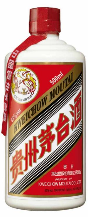 Moutai: fat cats' favourite tipple.