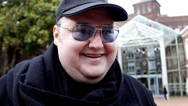 Kim Dotcom: Standing down from Mega.