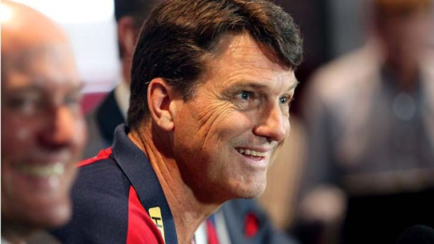 "Melbourne's new coach Paul Roos ... ""They're certainly not sugar-coating it - I know what I'm coming into."""