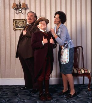 The Dursley family from the Harry Potter movies.