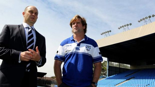 Deserving of praise: Todd Greenberg and Bulldogs coach Des Hasler made the right calls.