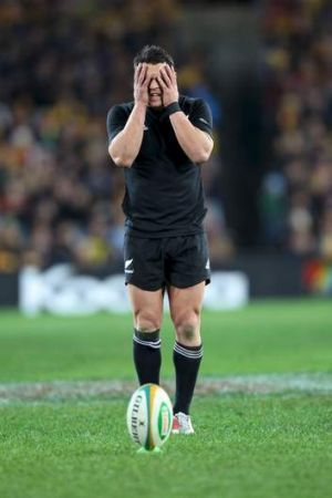 He's back: All Blacks great Dan Carter.