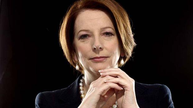 Former prime minister: Julia Gillard.
