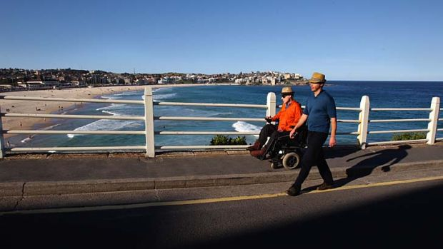 Trailblazers: The Bondi to Bronte path should be accessible to all, say Justin Reid and Adam Long.