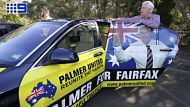 Clive Palmer on election day